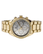 Mens Diamond Watch Ice Time California 42mm Dial 0.10ctw Diamond Champagne Dial