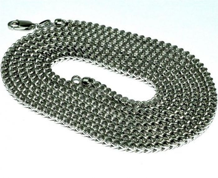 645d3fe91dd6d Sterling Silver Men's Chain Box Chain Franco Chain 2mm 24 26 28 30 32 34 36  38 Inch