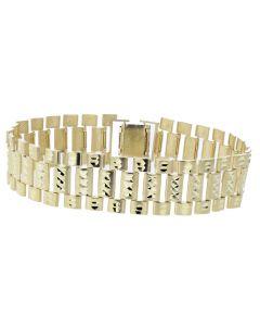 Rolex Style Jubilee Bracelet in 10K Yellow Gold